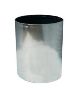 maceta  cilindro acero inox
